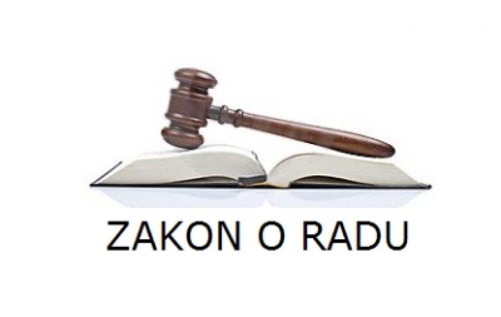 Zakon o radu (Sl. novine FBiH 62/15)